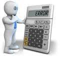 error calculo