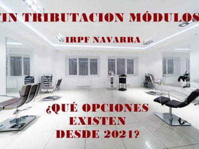 IRPF Navarra Módulos