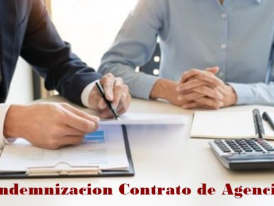 Indemnización contrato de agencia