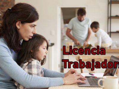 Licencias trabajadores