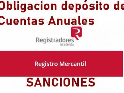Registro Mercantil obligación depósito cuentas anuales
